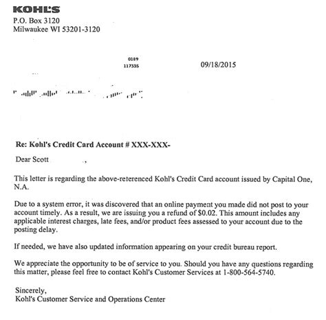 Kohl S Demand Letter Kohl S Credit Card Humor And Need Advice Myfico
