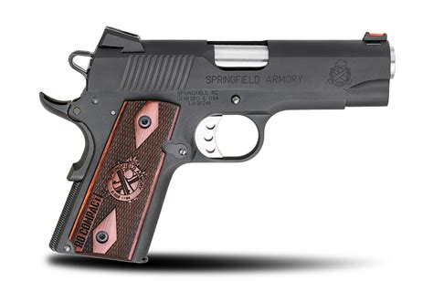 best frame compact 1911 range officer 174 compact 45acp steel frame pistols