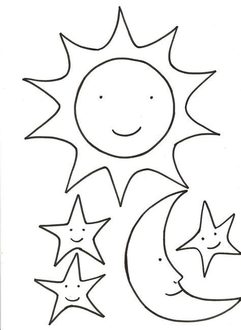 dibujo para colorear estrellas sol luna sol pinterest dibujos para colorear de sol luna y estrellas ideas