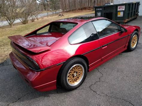 1987 pontiac fiero gt specs year 5 speed 52k mile 1988 pontiac fiero gt bring