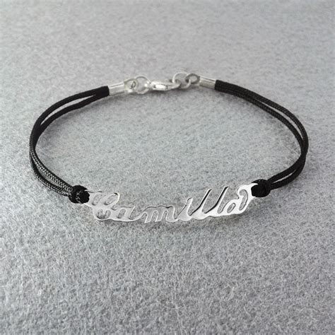 free shipping personalized name bracelet personalized name
