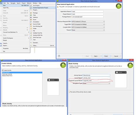 layout view in eclipse eclipse creates fragment layout automatically how can