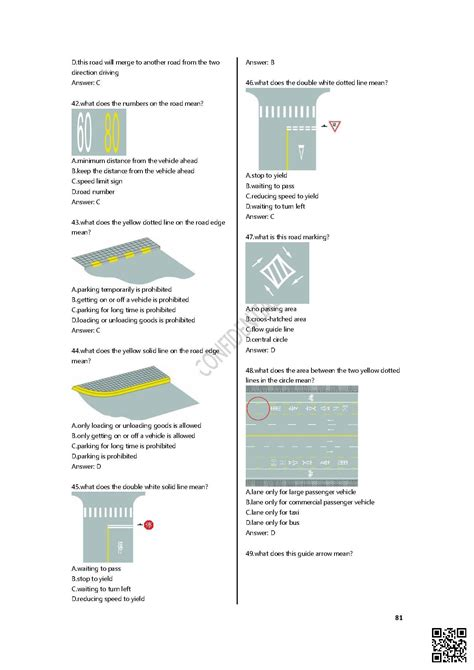 theory test layout 2014 chinese driving test page 81 dialect zone international