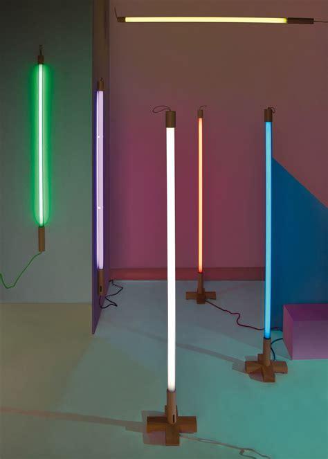 Wandleuchte Mit Stromkabel by Linea Wandleuchte Mit Stromkabel Neon L 140 Cm Blau By
