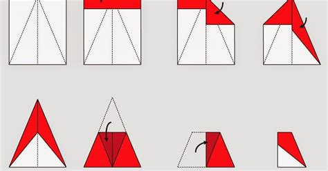 Paper Airplanes Step By Step - how to make origami planes step by step origami