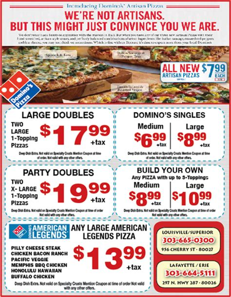 dominos deals uk