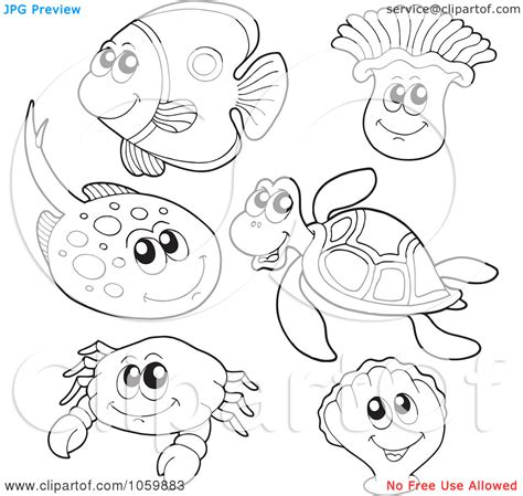 free coloring pages underwater animals free underwater sea life coloring pages
