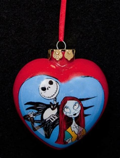 jack and sally christmas ornaments nightmare before hanging ornament