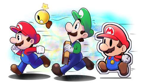 Mario and Luigi Paper Jam by Sakusagi on DeviantArt