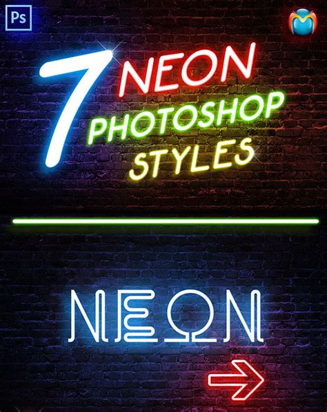 how to make 3d neon light typography photoshop gurus forum photoshop neon text effects www pixshark com images
