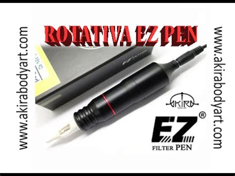 tattoo pen youtube rotativa ez pen tattoo in akira body art youtube