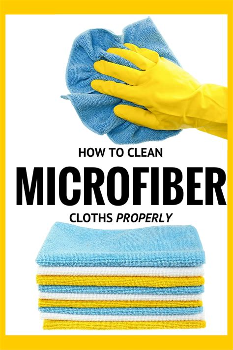 What Can I Use To Clean Microfiber by How To Clean Microfiber Cloths How To S 174