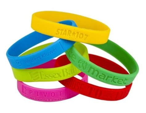 where can i get a custom rubber st made custom silicone wrist bands troline park gear