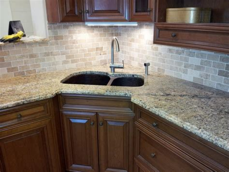 kitchen designs with corner sinks corner kitchen sink