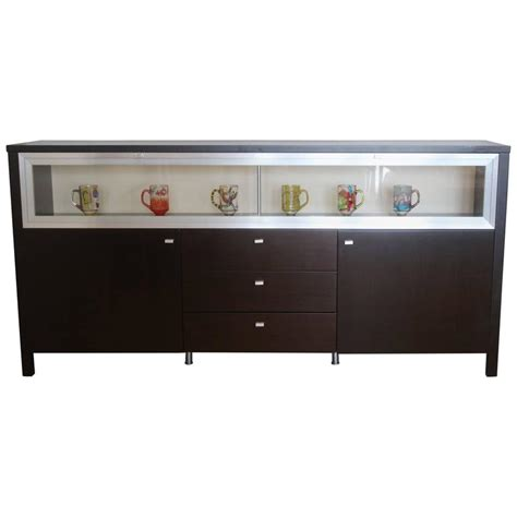 Front Cabinet by Modern Glass Top And Front Display Cabinet Buffet Bar For