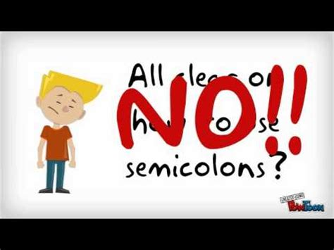 grammar pack how to use a semicolon youtube