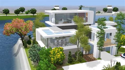 future house the sims 3 house future oasis 59 let s build h youtube