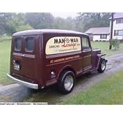 1949 Willys Sedan Delivery Panel Truck Original