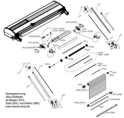 Velux Rollladen Ersatzteile by Endkappe Rechts Topkasten Velux Rollladen F037 R 0000 V22
