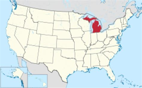 Michigan The 26th State by States That Joined The Union During Each Presidency