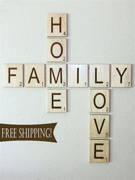 scrabble tile wall decor large individual scrabble letters scrabble tiles crossword