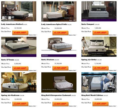 harga spring bed kasur termurah  indonesia toko