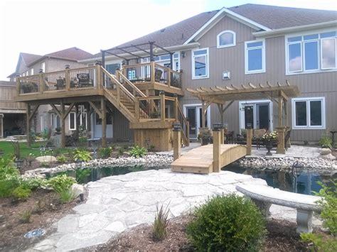 building a backyard oasis in toronto alair homes major