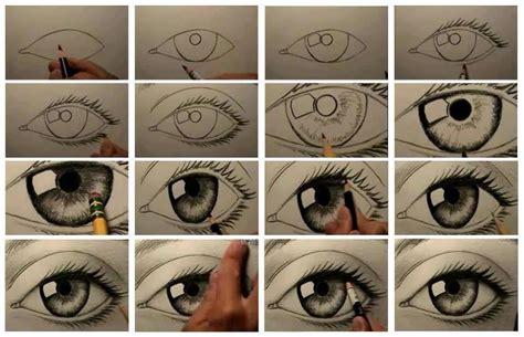 tutorial gambar mata realis sketsa mata bebenyabubu