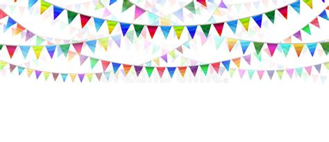 Bunting Flag Happy Anniversary White bunting flags stock illustration illustration of