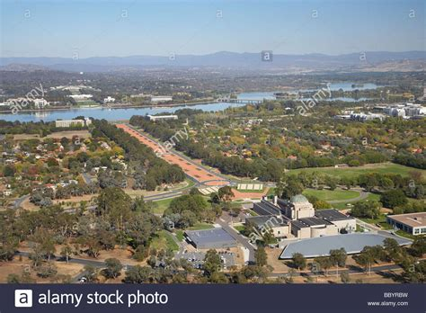 buy house canberra australian war memorial anzac parade lake burley griffin and stock photo royalty free