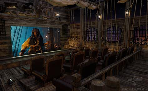 batman pirates themed home  theaters bit rebels
