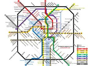 Dc Metro Map Pdf by This Guy Has An Idea Of What The Metro Should Look Like