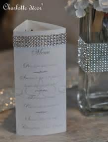 menu mariage chetre menu pour d 233 corer table de mariage faire part par decor projets 224 essayer