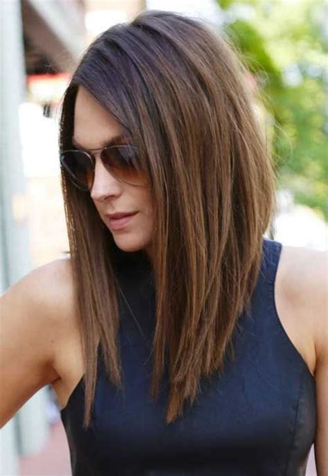 Angled Long Hair Long In Front | best 25 stacked bob long ideas on pinterest