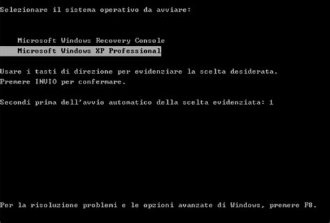 console di ripristino windows xp windows xp installare e configurare la console di