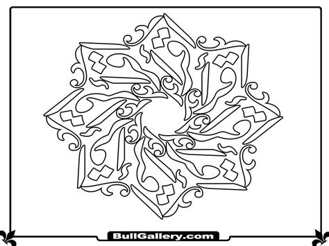 islamic pattern colouring book islamic pattern coloring pages
