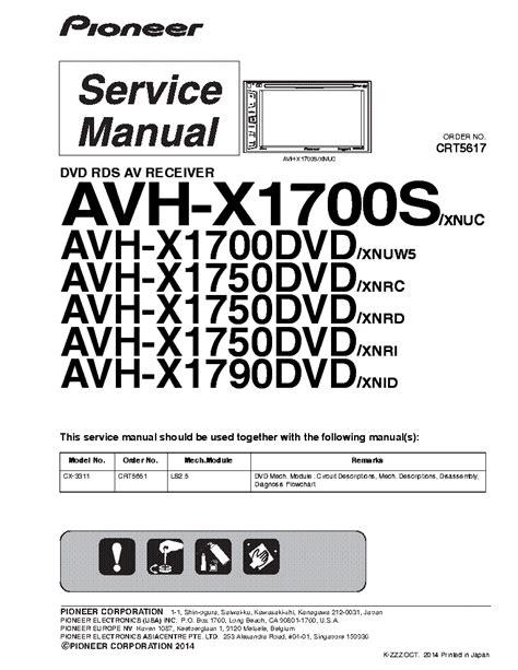 pioneer avh x1600dvd wiring harness color pioneer avh