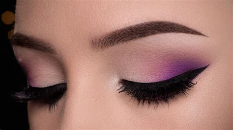 makeup easy easy purple makeup tutorial
