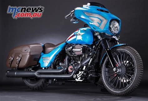 Harley Davidson Motorcycle by Harley Davidson Marvel Customs Mcnews Au