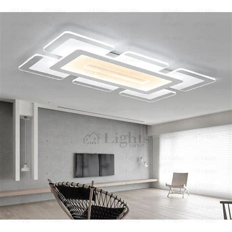 kitchen ceiling led lights quality acrylic shade led kitchen ceiling lights