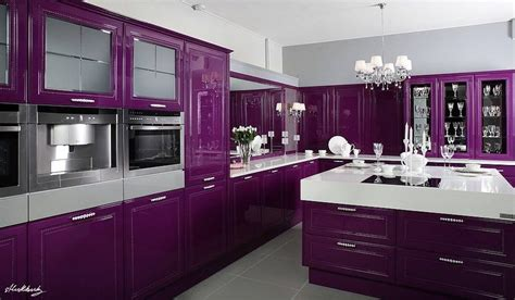 purple kitchen decorating ideas glamorous purple kitchen home purple kitchen decorate