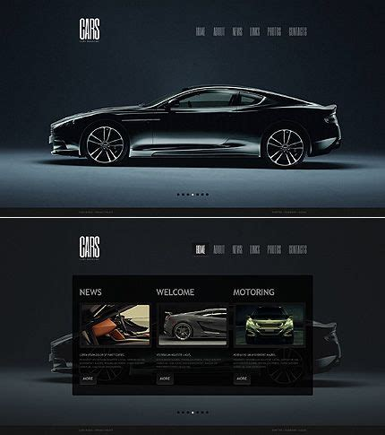 7 Best Car Websites For by Car Moto Cms Html Template Cars Magazines And Website