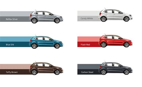 volkswagen vento colours polo allstar colors