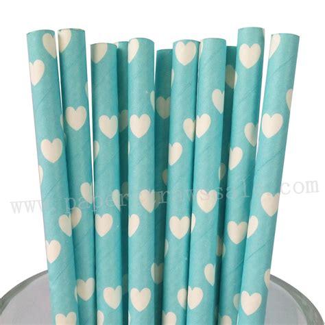 light blue paper straws blue paper straws white light blue paper