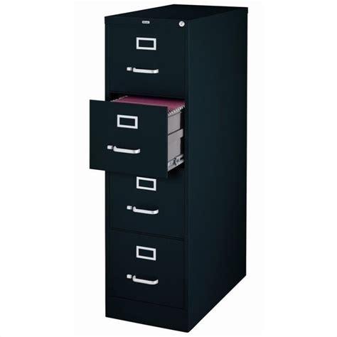 Letter Drawer by 4 Drawer Letter File Cabinet In Black 17546