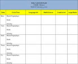 lesson plan calendar template preschool lesson template free word excel pdf format