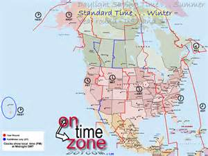 American Time Zones Map by Pics Photos Time Zones North America Converter