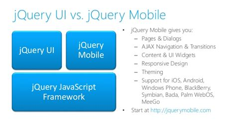 tutorial jquery mobile phonegap building mobile cross platform apps with html5 jquery