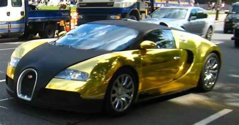 golden cars bugatti 2017 bugatti veyron sport gold