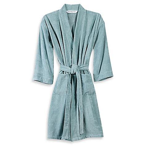 bathrobe bed bath and beyond wamsutta 174 sheared terry kimono bathrobe bed bath beyond